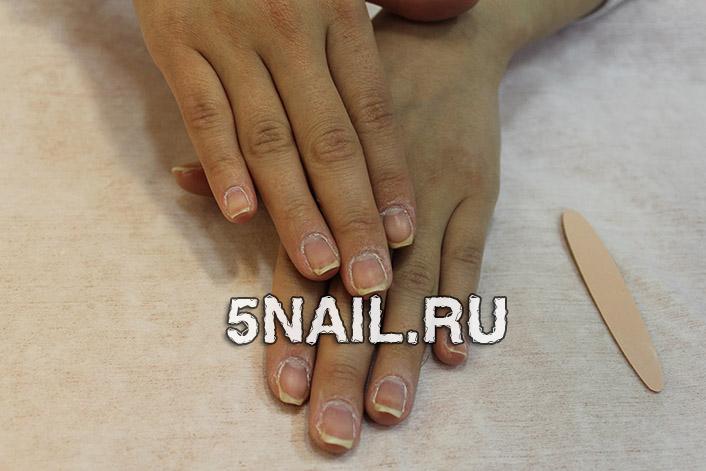 Придания формы ногтям